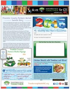 Jan 2015 Kids Transforming Health Newsletter